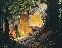 Tolkien Calendar June 1978 The Return of Gandalf, Brothers Hildebrandt