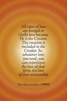 It's time to forge all relationships with Him and with the power of the mind and intellect forget the consciousness of the body and all it's relationships Consciousness, In This World, The Creator, Relationships, Forget, Spirituality, Love You, Mindfulness, God