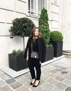 All Black & Bar Campari - Mangoblüte Curvy Fatshion Plus Size Diorama Isabel Marant My Malene Birger