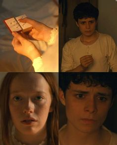 Gilbert And Anne, Amybeth Mcnulty, Cute Emoji Wallpaper, Gilbert Blythe, Anne With An E, In And Out Movie, Big Words, Book Memes, Anne Of Green Gables
