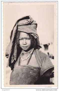 chad - Fort Lamy (A.E.F.) - Jeune Fille