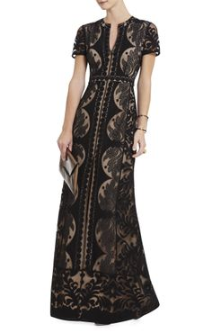 Cailean Lace Maxi Dress BCBG Max Azria