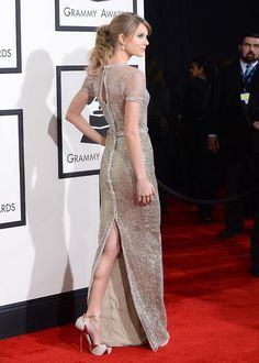 Taylor! Those shoes though!
