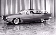 1958 Plymouth Cabana Wagon Concept, Design & Painted Clay Model Prototype by J. Samsen