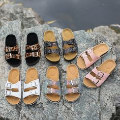 New Shoes Home platform flip flops outdoor beach slippers fashion summer women sneakers Sequin platform shoes Women's sandals Cork Sandals, Glitter Sandals, Strap Sandals, Women's Shoes Sandals, Women Sandals, Trendy Sandals, Slide Sandals, Fashion Heels, Sneakers Fashion