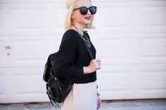 Poor Little It Girl - How To Style A Backpack - @poorlilitgirl