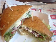 Schnippers Quality Kitchen, NYC #chickenclub #sandwich
