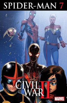 Civil War II: Spider-Man #7 by Sara Pichelli *
