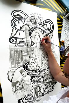 Tips:  6 Drawing Tips From Leading Illustrators =)