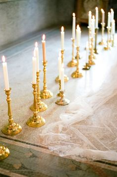 Romantic candlelight