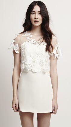 Mystic Rose Top #bridalcouture #bridaldress #weddinggown #weddingdress #wedding #bride #modernbride #brautkleid #hochzeitskleid #brautmode #hochzeit #kaviargauche