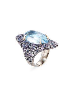 Blue Topaz, Sapphire,