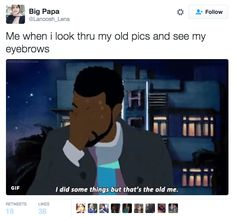 And then instantly regret it. | 21 Pictures That Perfectly Sum Up Your Eyebrow Struggle