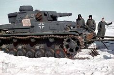 Panzerkampfwagen IV (7,5 cm Kw.K. L/24) (Sd.Kfz. 161) Ausf. F getting recovered after breaking down.