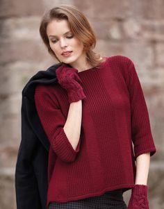 Book Woman Basics 11 Autumn / Winter | 18: Woman Sweater | Dark maroon
