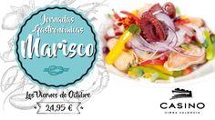 Disfruta del mejor marisco en las jornadas gastronómicas de Casino Cirsa Valencia - http://www.valenciablog.com/disfruta-del-mejor-marisco-en-las-jornadas-gastronomicas-de-casino-cirsa-valencia/