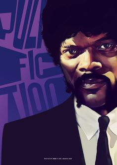 Pulp_fiction by the talented Flore Maquin