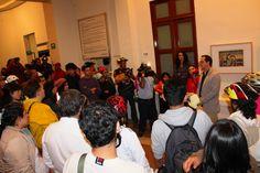 Alrededor de 90 entusiastas ciclistas urbanos participaron en la primera Rodada Cultural Revolución-Alameda, que se realizó este miércoles en el marco de la Noche de Museos que organiza la Secretaría de Cultura de la Ciudad de México. Foto: Dardané Pérez Romero / Secretaría de Cultura del GDF.