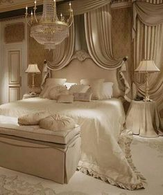 Gorgeous Ivory Master Bedroom