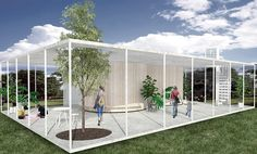 Image from the Art & Design Education Resource Guide (ADERG) 2016. 'Community Pavilion -  shared space as part of the Vertical community project' Morgan Novy Built Environment Swinburne University of Technology Bachelor of Design (Interior Architecture) (Honours) swinburne.edu.au