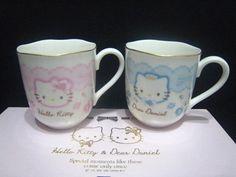 2008 Sanrio Japan Hello Kitty Dear Daniel Wedding Pair Cup Doll Figure Gift New | eBay
