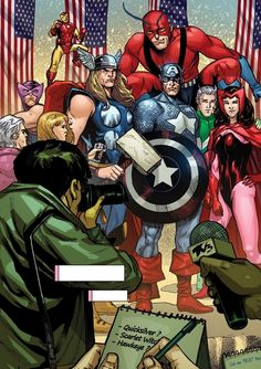 """""""We might finally find ourselves a place where we belong — with the Avengers."""""""