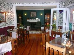 Country dining room, New Hampshire