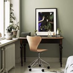 Comfy workspace? Share your inspirational workspace at #fritzhansen Photo by @bobedrenorge