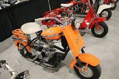 OldMotoDude: 1957 Cushman Eagle sold for $6,000 at the 2017 Mec...