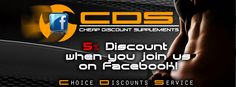 Social banner advert for sports nutrition retailer in the UK.