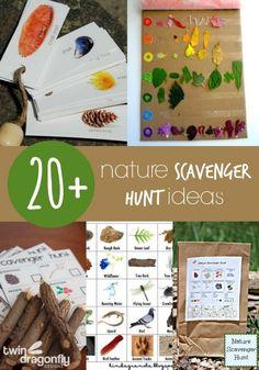 20+ Nature Scavenger Hunt Ideas                                                                                                                                                                                 More