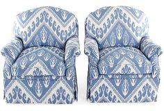 club chair pair.