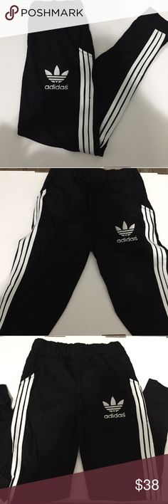 🚨NEW🚨ADIDAS 3STRIPES TREFOIL EMBROILED SWEATPANT !LAST ONE! NEW ADIDAS TREFOIL 3STRIPES WITH EMBROILED TREFOIL LOGO SIZE S. Check my other listing Nike, adidas, forever 21, champion, converse , triangl , bikinis, hollister, American eagle, brandy Melville, Lacoste, too faced, Mac, clinique,Aeropostale, gap,Calvin Klein,ethika,tom,vans,coach,kate spade,Michael kors adidas Pants Track Pants & Joggers