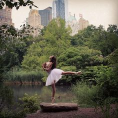 Dancers Hit The Streets (& Rooftops) In These Instagram Pics #refinery29  http://www.refinery29.com/dancers-instagram-pictures#slide2