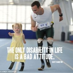 Another fine example of two individuals with courage. <3
