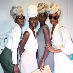 turbanista:  Queens at Mille Collines 2016 show by Trevor Stuurman in Johannesburg, South Africa   #MBFWJ16   http://brown-princess.tumblr.com/