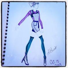 Wixun fashion illustration.