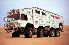 Action Mobil Desert Challenger vehicle