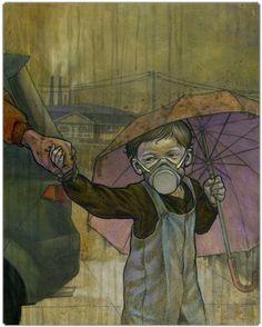 Environmental Awareness : Air Pollution by Boris Pelcer