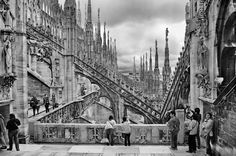Milan and an unbeliavable photo of the view from the Cathedral