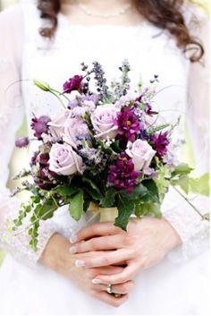 brides bouquet #vintage