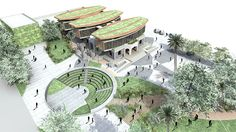 Gallery of Chile: cultural center designed by Cazú Zegers will open in October - 1 - architektur Cultural Architecture, Amphitheater Architecture, Sacred Architecture, Education Architecture, Green Architecture, Commercial Architecture, Concept Architecture, Masterplan Architecture, Architecture People