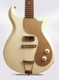 Gretsch Princess 1963-1964Mahogany, Rosewood A quite rare member of the Gretsch Corvette family. Hi-lo Tron pickup.