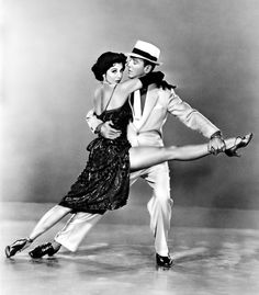 "Fred Astaire and Cyd Charisse in ""The Band Wagon"" (1953). COUNTRY: United States. DIRECTOR: Vincente Minnelli."