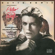 David Bowie, May 1978. Prokofiev's Peter and the Wolf.