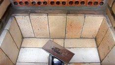 CONSTRUTORA SOUSA: Churrasqueira de tijolos, em 22 passos. Barbecue, Tile Floor, Flooring, Texture, Carne, Green, Crafts, Cookers, Ovens