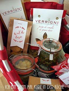 Ich bin dann mal kurz in der Küche: {Geschenke aus der Küche} Italienische Spezialitäten II