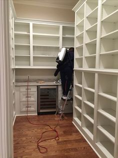All relocation jobs need a thorough cleaning whether it is a new build or a renovation. Supply Room, Organizing, Organization, New Builds, Mudroom, Storage Spaces, Design Projects, Laundry Room, Bookcase