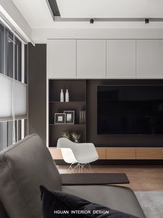 Modern home design Living Room Wall Units, Living Room Tv Unit Designs, Home Living Room, Interior Design Living Room, Living Room Decor, Living Room Tv Cabinet, Painel Tv Sala Grande, Luxury Home Decor, House Design