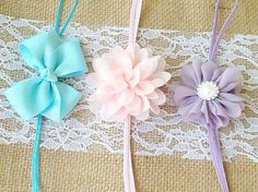 Newborn Headband Set of 3 $12.00